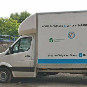 house clearance london truck