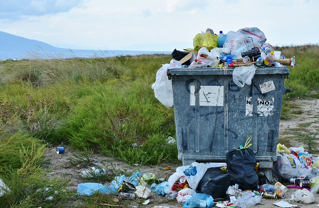 pastic garbage